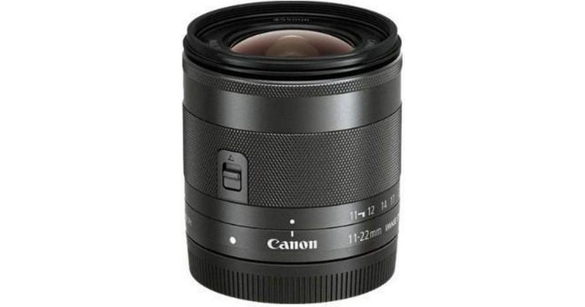 Canon EF-M 11-22mm f/4-5.6 IS STM • Compare prices (23 stores)