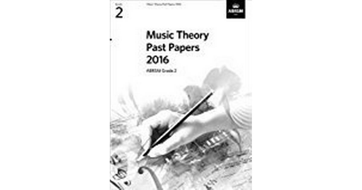 Music Theory Past Papers 2016, ABRSM Grade 2 (Theory of