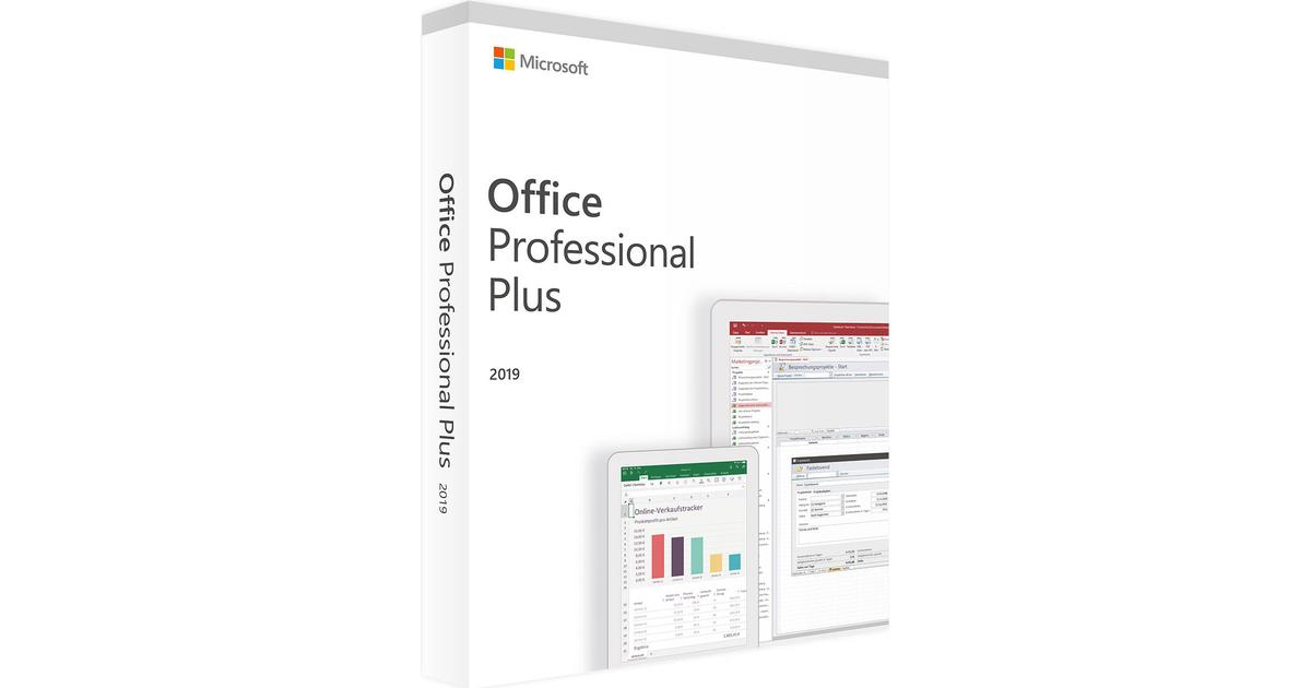 Microsoft Office Professional Plus 2019 • Se priser (3