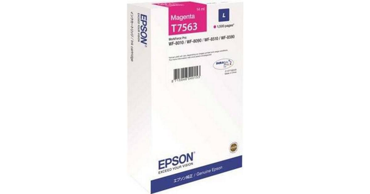 Epson (C13T756340) Original Blækpatroner Magenta 14 ml