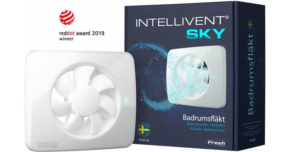 Fresh Ventilator Intellivent Sky 9302583 Se Priser Hos Os