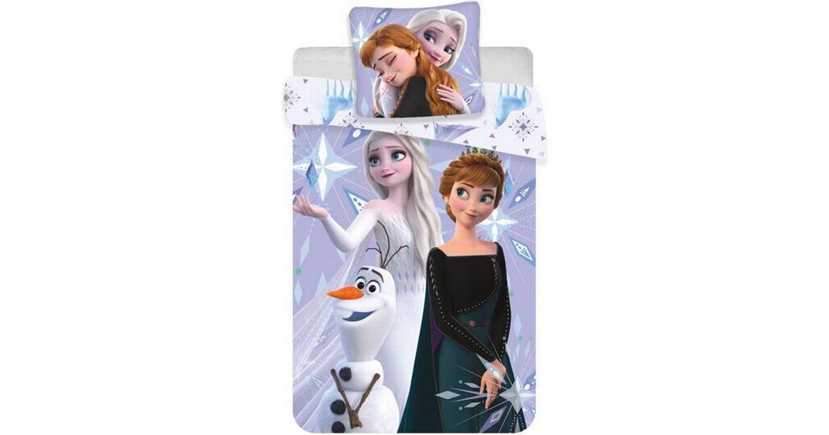 Disney Frozen 2 Junior Sengetoj 100x140cm Se Priser Hos Os