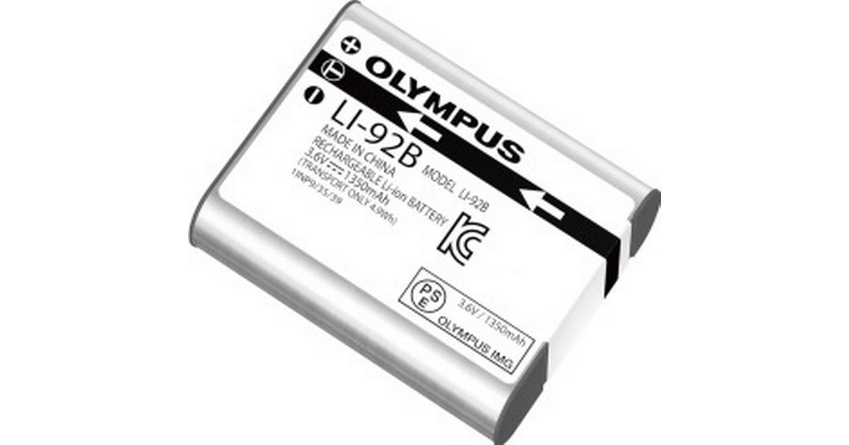 Olympus LI-92B • Se lägsta priset (24 butiker) hos