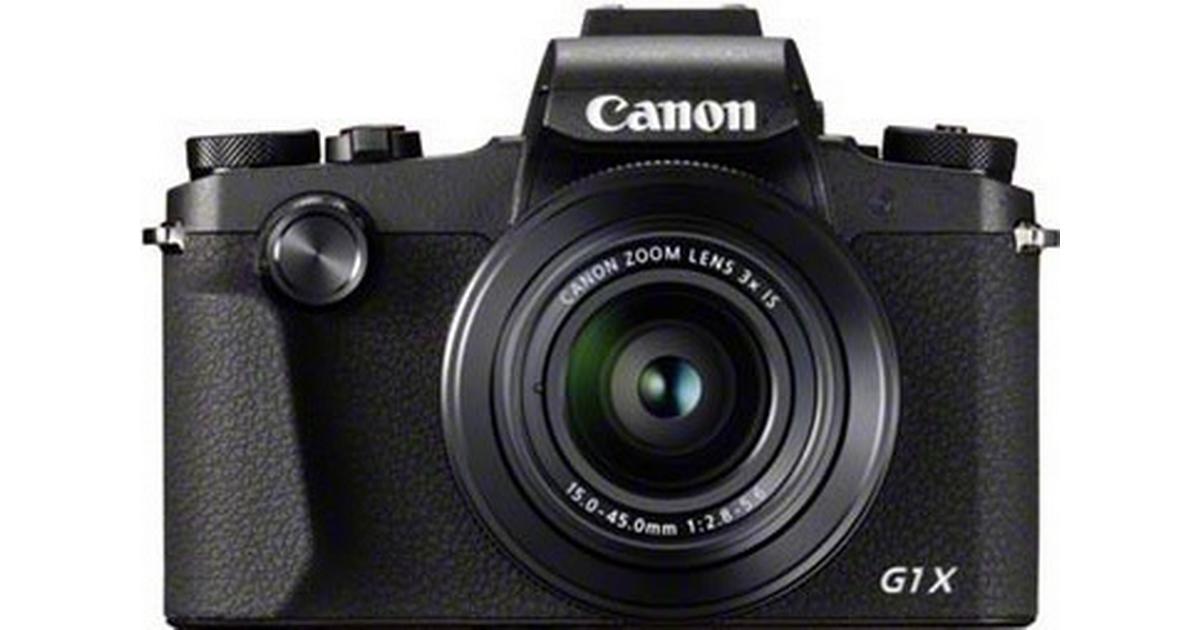 Canon PowerShot G1 X Mark III • Se pris (17 butiker) hos PriceRunner
