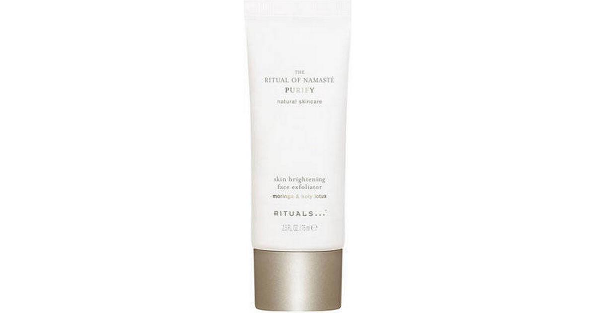 Rituals The Ritual of Namasté Purify Skin Brightening Face Exfoliator 75ml • Se priser