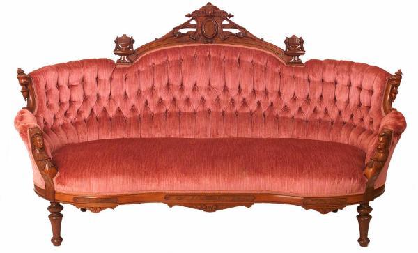 Furniture Suite-parlor; Victorian Renaissance Revival