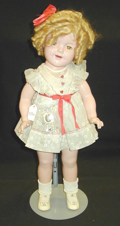 Shirley Temple Doll Ideal Composition Original Clothes