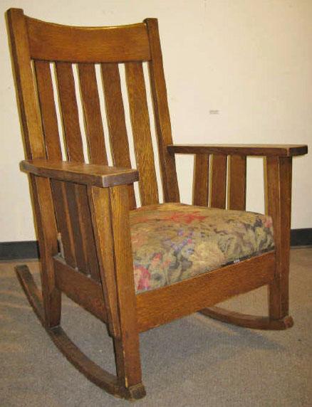 Furniture ChairRocking Arts  Crafts Phoenix Chair