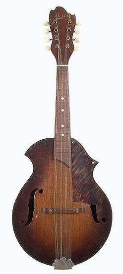 Strings Mandolin Kay Model K 61 Ca 1957 Mahogany