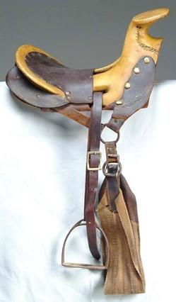 Saddle Texas Hope Mexican Style Youth Size