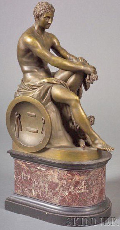 Bronze Sculpture Grand Tour After The Antique Ludovisi