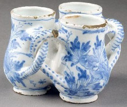 faience fuddling cup 3