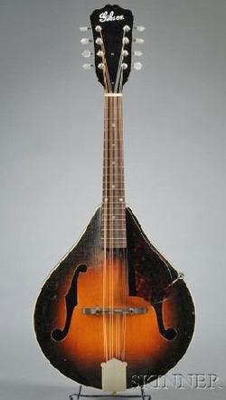 Strings Mandolin Gibson Style A1 1939 Case