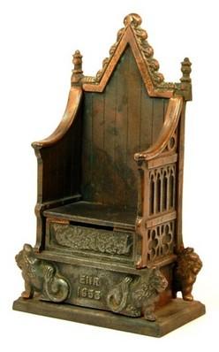Still Bank John Harper English Throne EIIR 1953 8 Inch