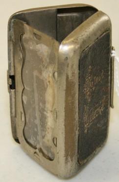 Lantern Candle Pocket Nickel Plate Amp Leather Folding