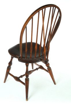 Furniture: Windsor Chair-Side (02); Bow-Back, Brace-Back