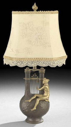 Table Lamp French FervilleSuan Charles Georges