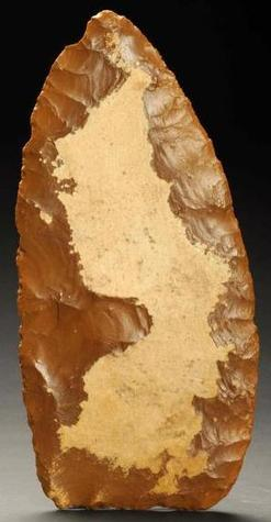 Stone Blade Paleo Biface Niobrara Chert Missouri