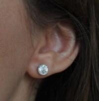Jewel of the Week - Bezel Diamond Stud Earrings | PriceScope