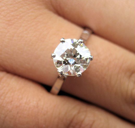 Solitaire Diamond Engagement Rings  PriceScope