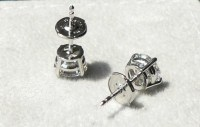 Diamond studs: How are screwbacks and are they ...