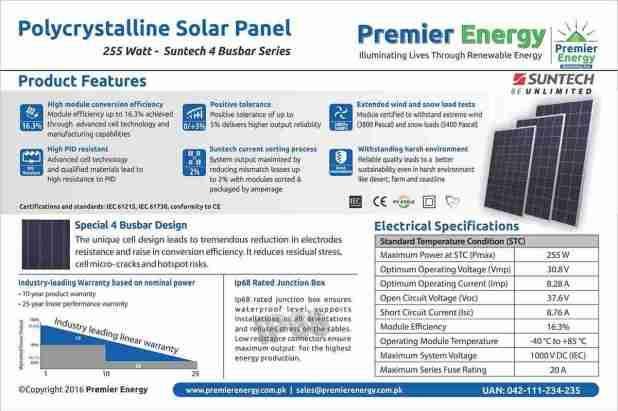 Polycrystalline Solar Panel Price In Pakistan