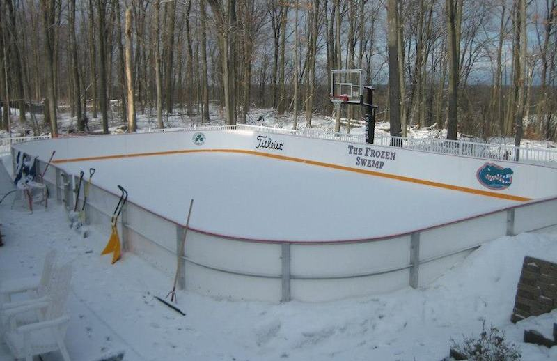 14 Homes With Private Ice Rinks PHOTOS Pricey Pads