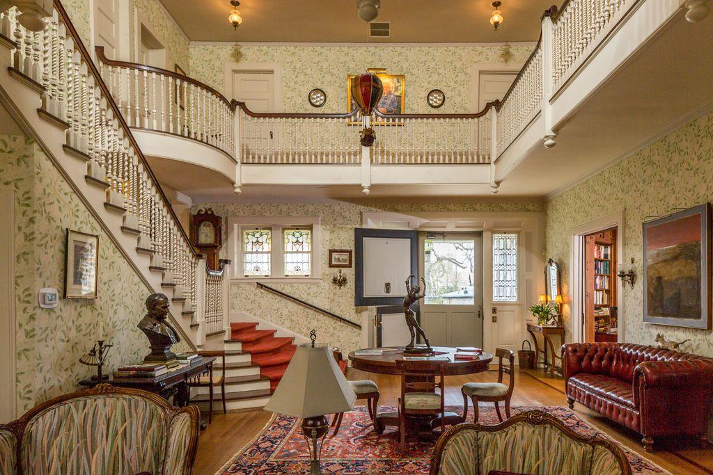 Impressive William Augustus Bates Historic Home in