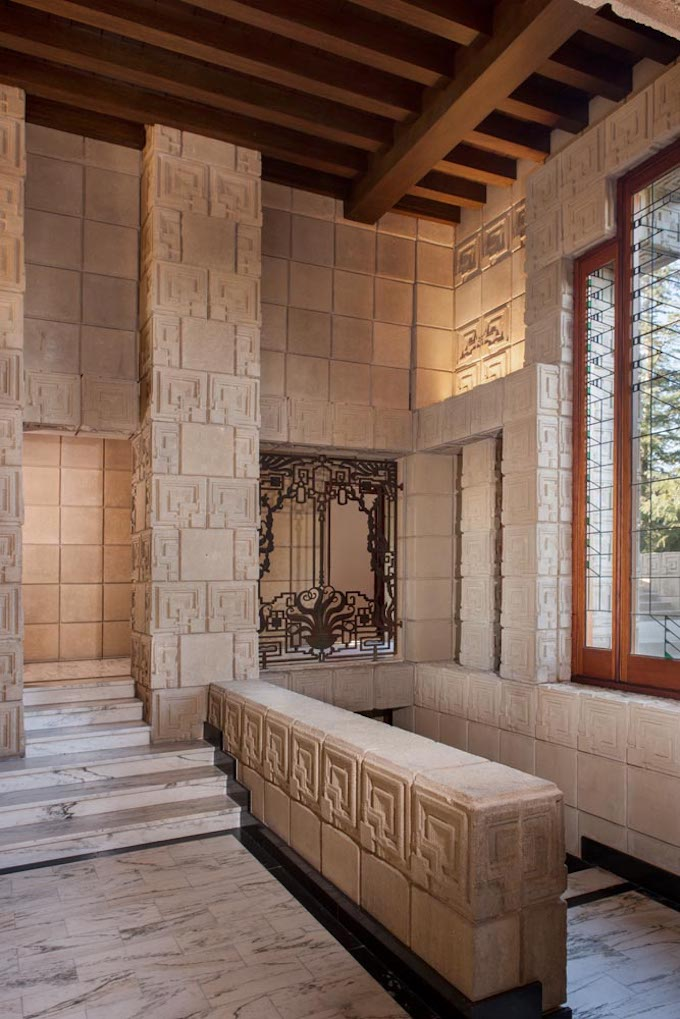 Frank Lloyd Wrights Landmark Ennis House Lists in Los
