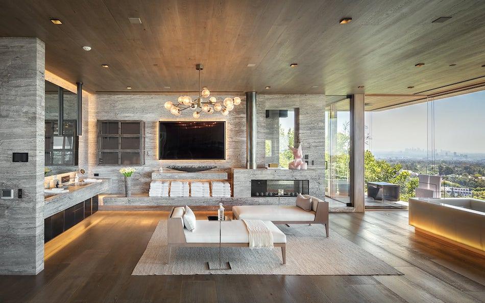 Bel Airs 25000 Sq Ft Villa Sarbonne Lists for 88M