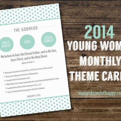 FREEBIE- January 2014 Theme Card