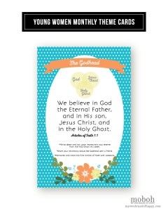 MOBOH YW Monthly Theme Card January 2015