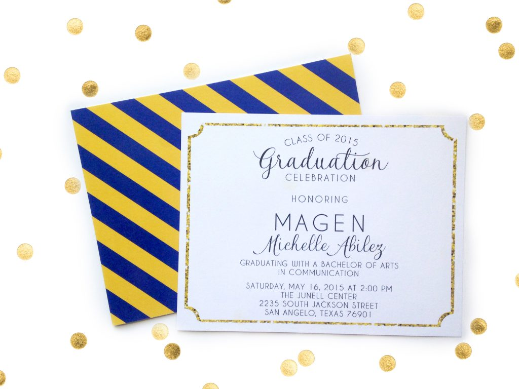 4 Ways to Get Graduation Announcements that Rock |Prickly Pear Design Co. |graphic design & small business marketing | web & logo design