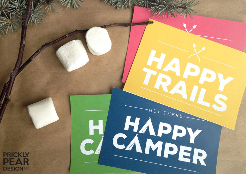 Young Women Girls Camp Postcards Revisited & Great Ideas for LDS YW Girls Camp | Prickly Pear Design Co. | Small business marketing | Blogging| Branding & Design