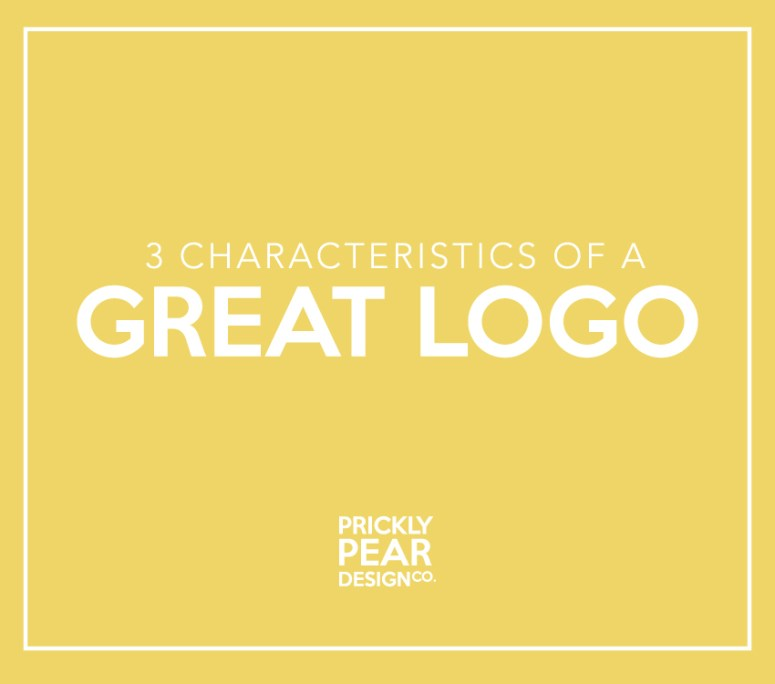 3 Characteristics of a Great Logo   Prickly Pear Design Co.   Graphic Design   Branding   Logo & Web Design   Small Business Marketing   DIY Design