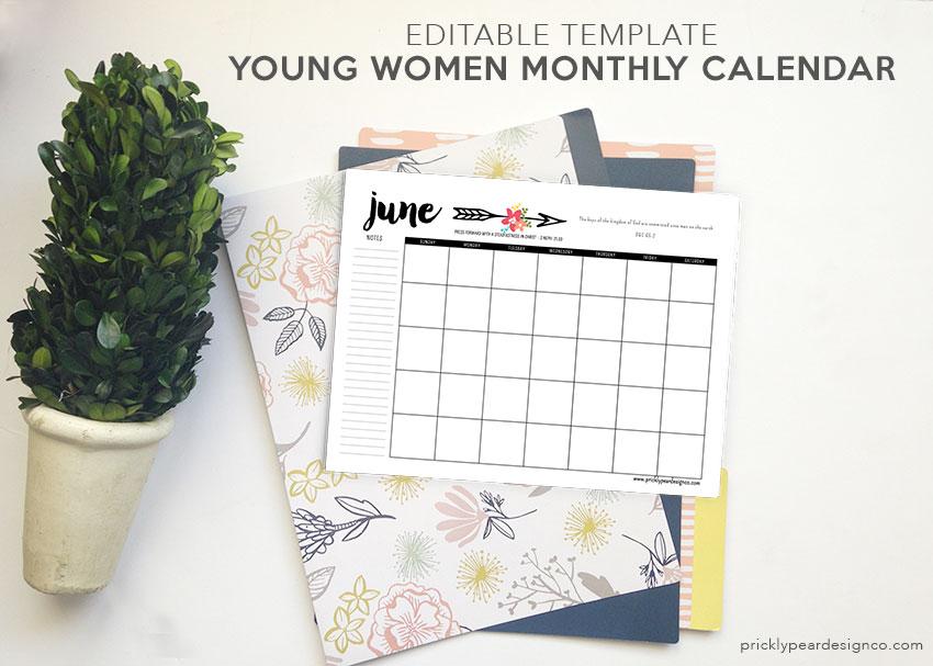 editable-calendar-template