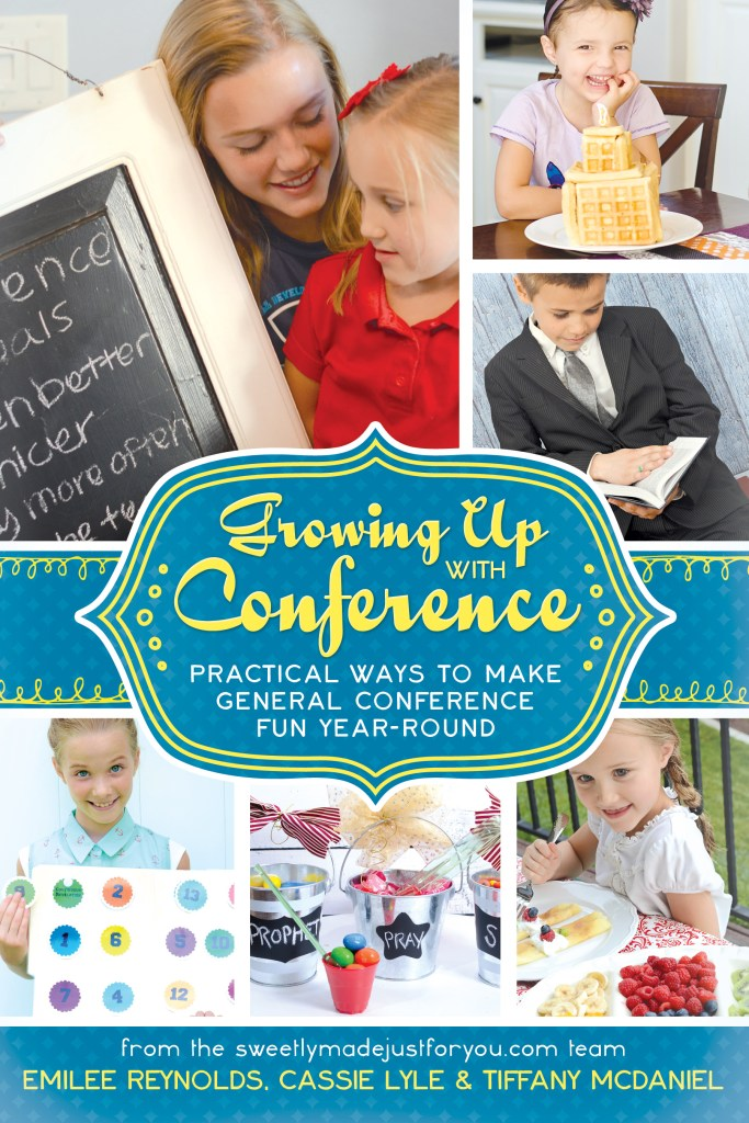 A General Conference Book Review: Growing Up With Conference by Sweetly Made Just For You | Prickly Pear Design Co. | LDS Printables