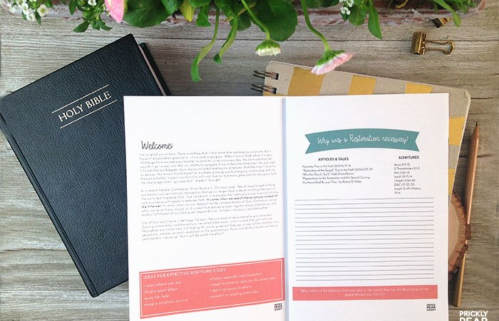 FREE Come Follow Me Study Guide for April – The Apostasy & The Restoration