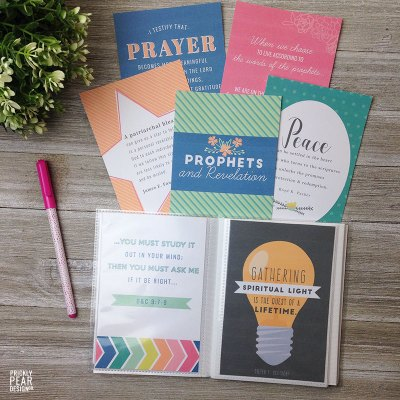 Come Follow Me Handouts for May – Prophets & Revelation