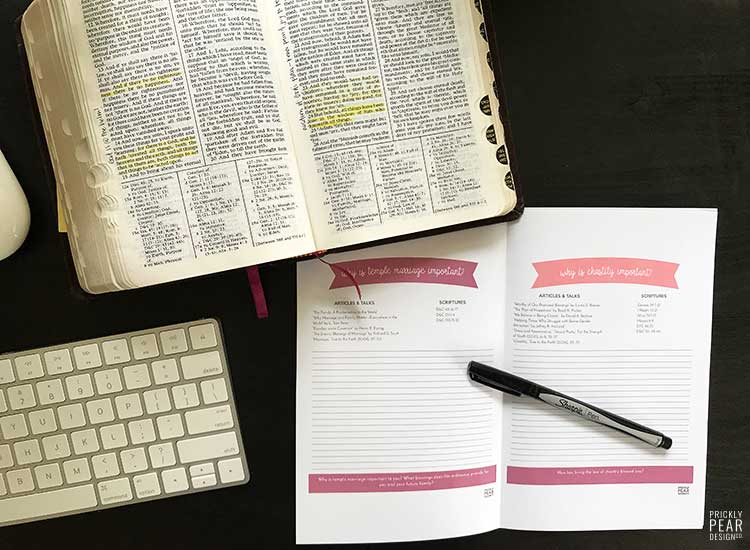 August's Come Follow Me Study Guide   LDS Youth Come Follow Me Curriculum   August - Marriage & Family   Free PRintable