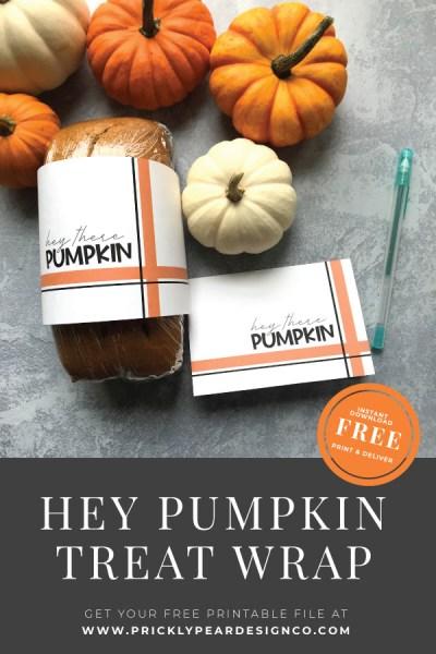 Hey There Pumpkin Treat Wrap