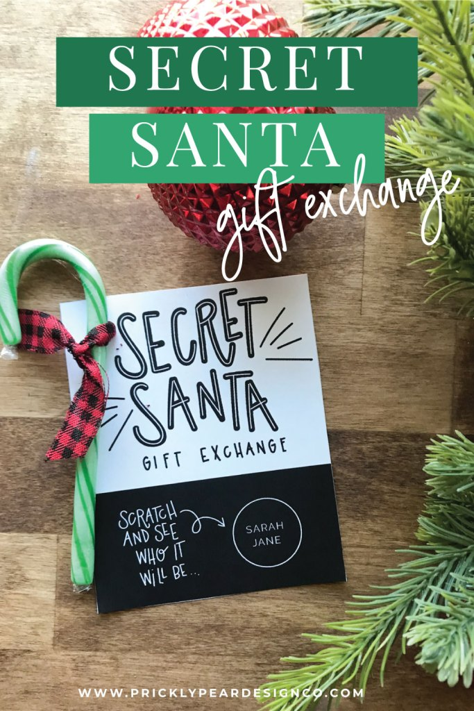 Secret Santa Gift Exchange from Prickly Pear Design Co.