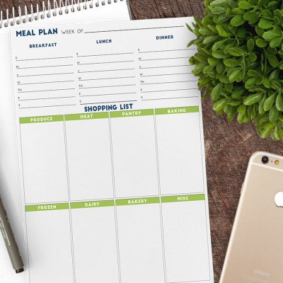 Lets Get Organized – Make Meal Planning Easy | FREE Weekly Meal Plan Printable