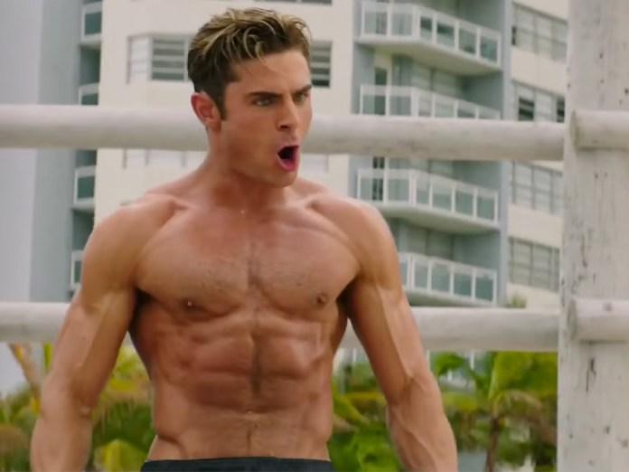 Zac Efron's Abs Keep Teasing Us in New 'Baywatch' Trailer