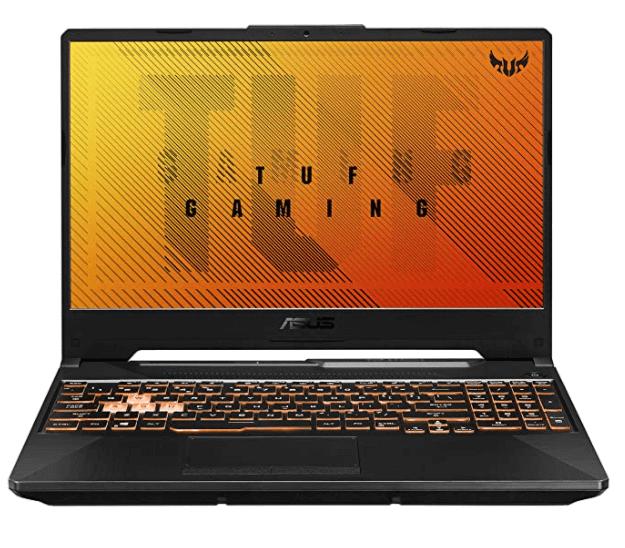 "ASUS TUF Gaming A15 Laptop 15.6"" FHD 144Hz Ryzen 7 4800H, GTX 1650 4GB Graphics"