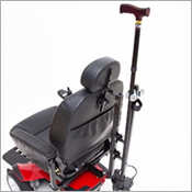 jazzy power chairs swivel chair couch electric for adult mobility pride dual crutch and cane holder