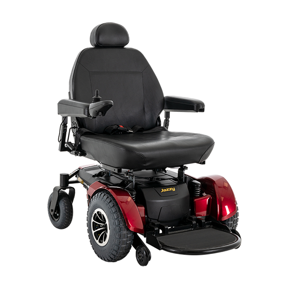 Jazzy 1450 Power WheelchairJazzy Power ChairsPride