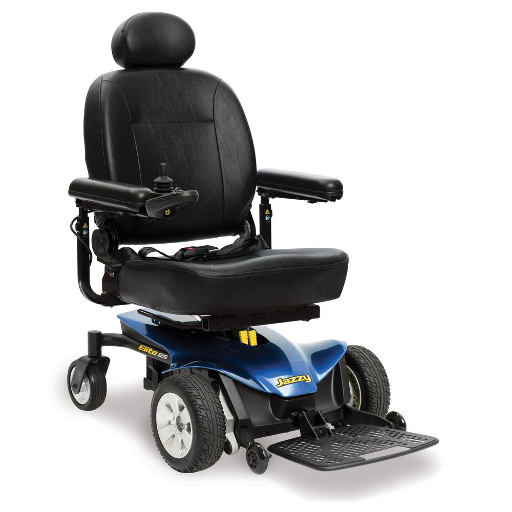 Jazzy Elite ES Wheelchair Jazzy Power Chairs Pride