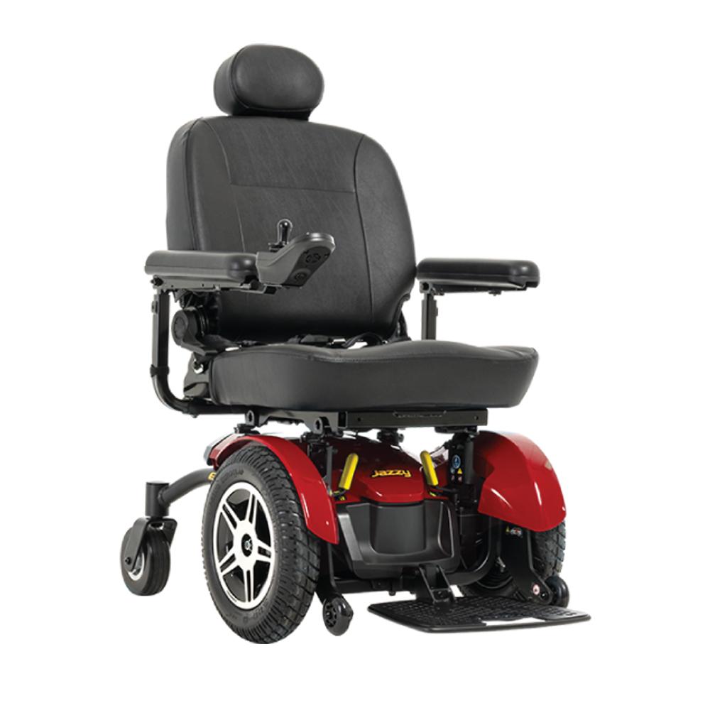 Jazzy Elite HD Wheelchair Jazzy Power Chairs Pride