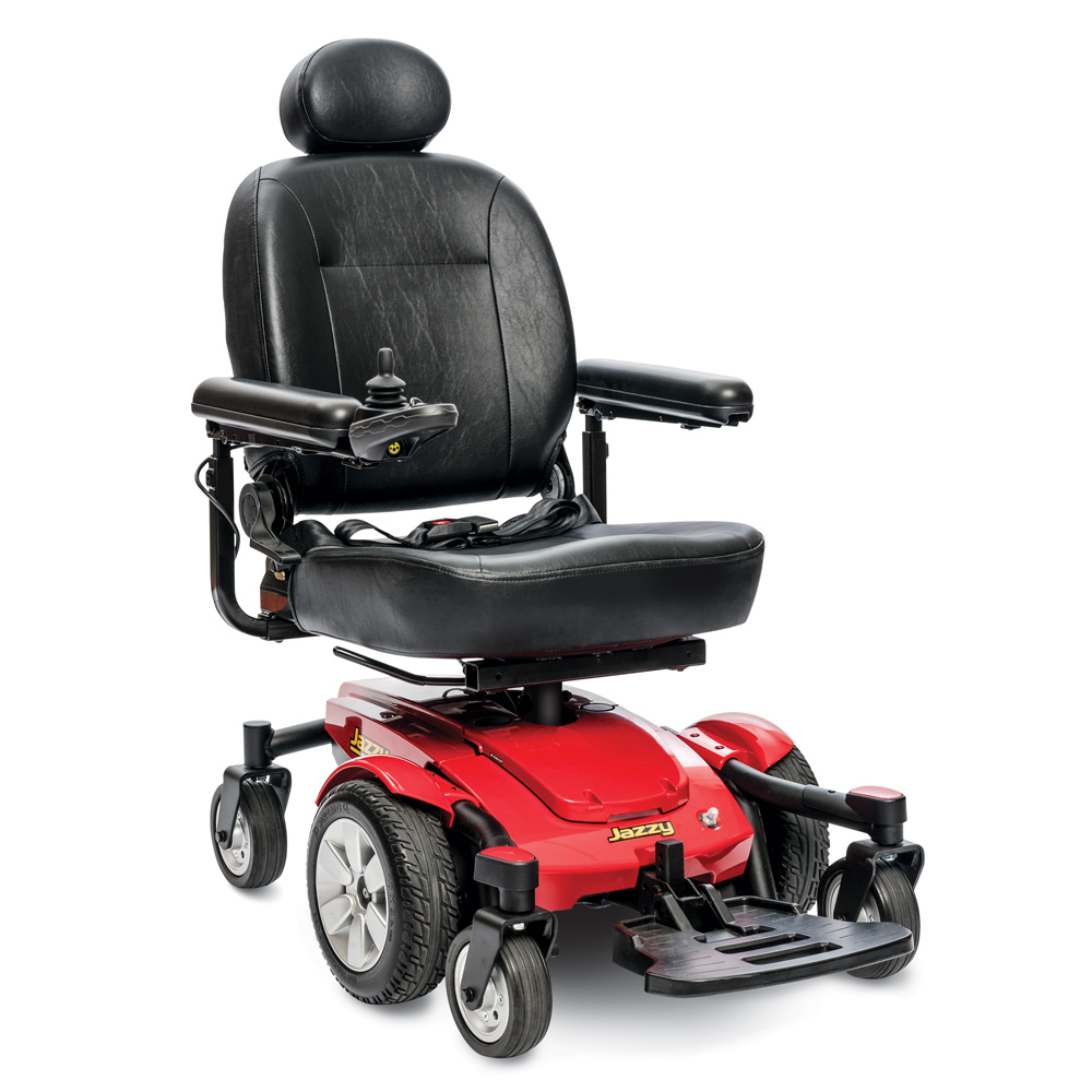 Jazzy Select 6 Wheelchair Jazzy Power Chairs Pride